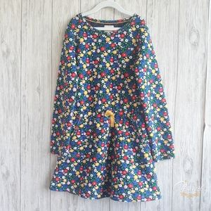 Boden Girls Floral quilted Dress Size 11-12 Y